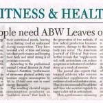 ABW Article - Manila Standard Today Dec 16 2009